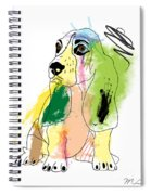 Cute Dog 2 Spiral Notebook