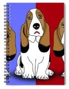 Cute Dogs 2 Spiral Notebook
