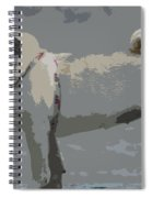 Cute Puggy Dog Spiral Notebook