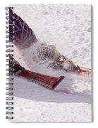 Cutting Edge Spiral Notebook