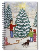Cutting Our Tree Spiral Notebook