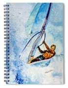 Cutting The Surf Spiral Notebook