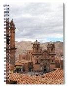 Cuzco Plaza Del Armas Spiral Notebook