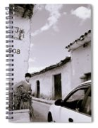 The Streets Of Cuzco Spiral Notebook