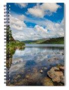 Cwellyn Lake Wales Spiral Notebook