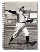 Cy Young - American League Pitching Superstar - 1908 Spiral Notebook