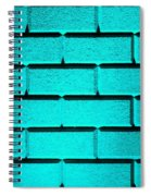 Cyan Wall Spiral Notebook