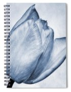 Cyanotype Tulip Spiral Notebook