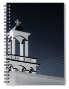 Cyclades Greece - Andros Island Church Spiral Notebook