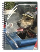 Cycle Dog Square Spiral Notebook