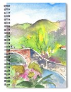 Cycling In Italy 05 Spiral Notebook