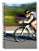 Cycling Prologue Spiral Notebook