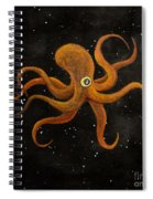 Cycloptopus Black Spiral Notebook
