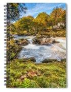 Cyfyng Falls Spiral Notebook
