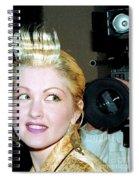 Cyndi Lauper 1988 Spiral Notebook