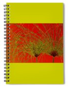 Cyperus Papyrus Abstract Spiral Notebook