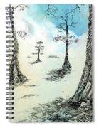 Cypress In Ink Spiral Notebook