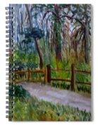 Cypress Trail At Loxahatchee Spiral Notebook