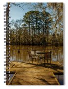 Cypress Trees At Caddo Lake State Park Spiral Notebook