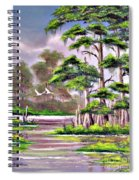 Cypress Trees-wakulla River Florida Spiral Notebook