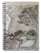 Cypresses In Cyprus Spiral Notebook