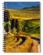 Cypresses Of Toscany Spiral Notebook