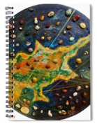 Cyprus Planets Spiral Notebook