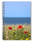 Cyprus Poppies Spiral Notebook