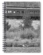 Cyrus K  Holliday Private Rail Car Bw Spiral Notebook