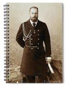 Czar Alexander IIi  Spiral Notebook
