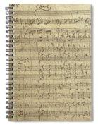 Czech Republic Prague Symphony No. 38 In D Major Called Prague Symphony Spiral Notebook