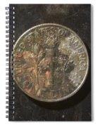 D 2003 A T Spiral Notebook