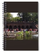The Arches And The Fountain Spiral Notebook