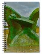 D-day Memorial For Juno Beach Heros Spiral Notebook