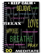 D I Y Anxiety Therapy Spiral Notebook