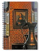 Da Vinci's Beauty Spiral Notebook