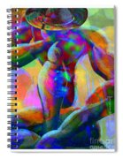 Daddy Is Thinking Again Spiral Notebook