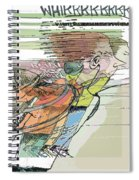 Daddy's Home Inspired Whirrrrrrr Spiral Notebook