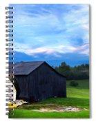 Dad's Favorite Bird Meadowlark Spiral Notebook