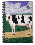 Dad's Prize Milk Cow Spiral Notebook