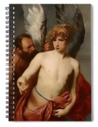 Daedalus And Icarus Spiral Notebook