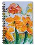 Daffies Spiral Notebook