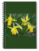 Daffies Spiral Notebook