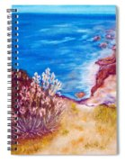 Daffodils At The Beach Spiral Notebook