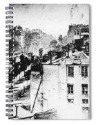 Daguerreotype, 1838 Spiral Notebook