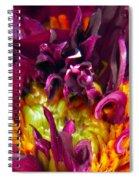 Dahlia Fairies Delight Spiral Notebook