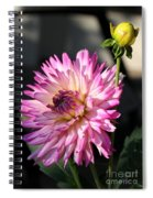 Dahlia Generations Spiral Notebook