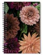 Dahlia Heaven Spiral Notebook