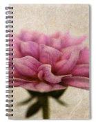 Dahlietta Amy Textured Spiral Notebook