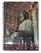 Daibutsu Buddha Of Todai-ji Temple Spiral Notebook